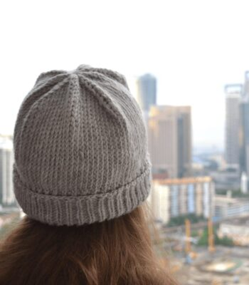 Simple hat free knitting pattern