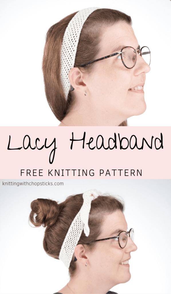 Lacy Headband Free Kniting Pattern