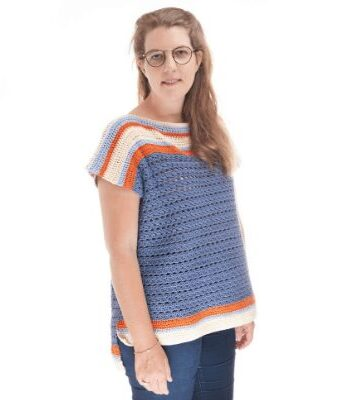 Sunburst Top Free Crochet Pattern
