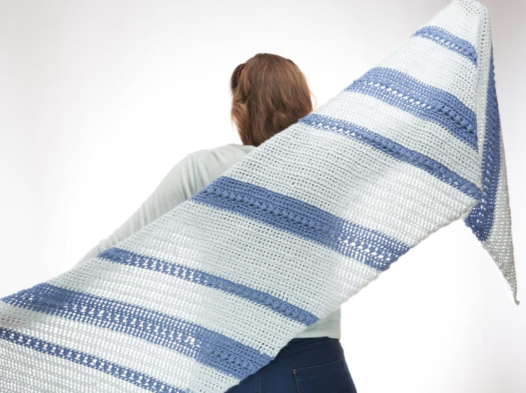 Poudreuse Wrap Crochet Pattern