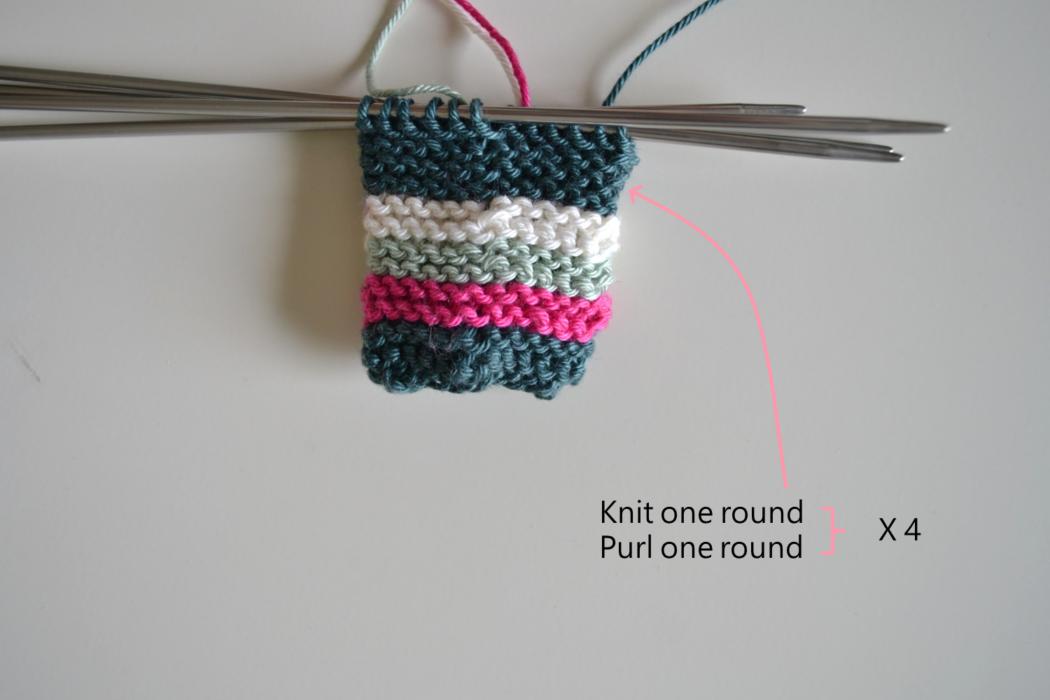 Knit chair socks pattern