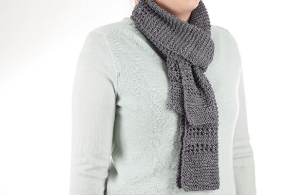 Aircon Scarf Knitting Pattern