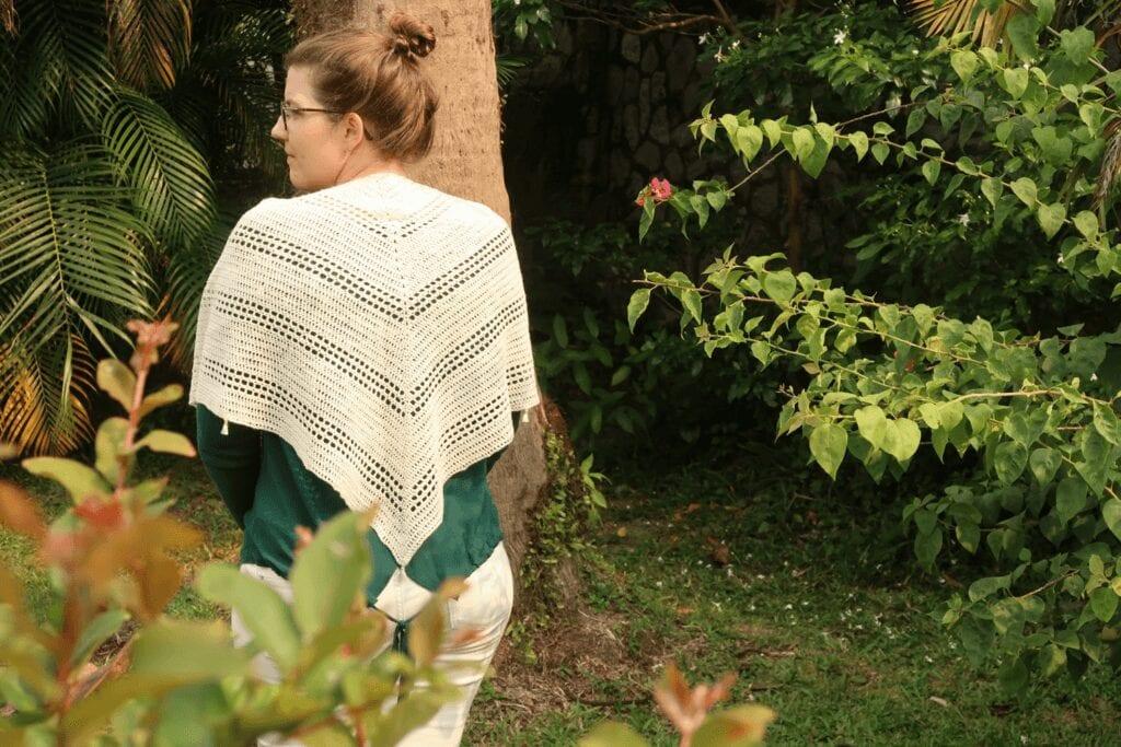 crochet shawl pattern free