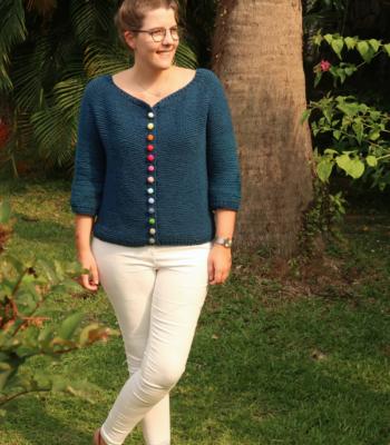 bonbon cardigan knitting pattern