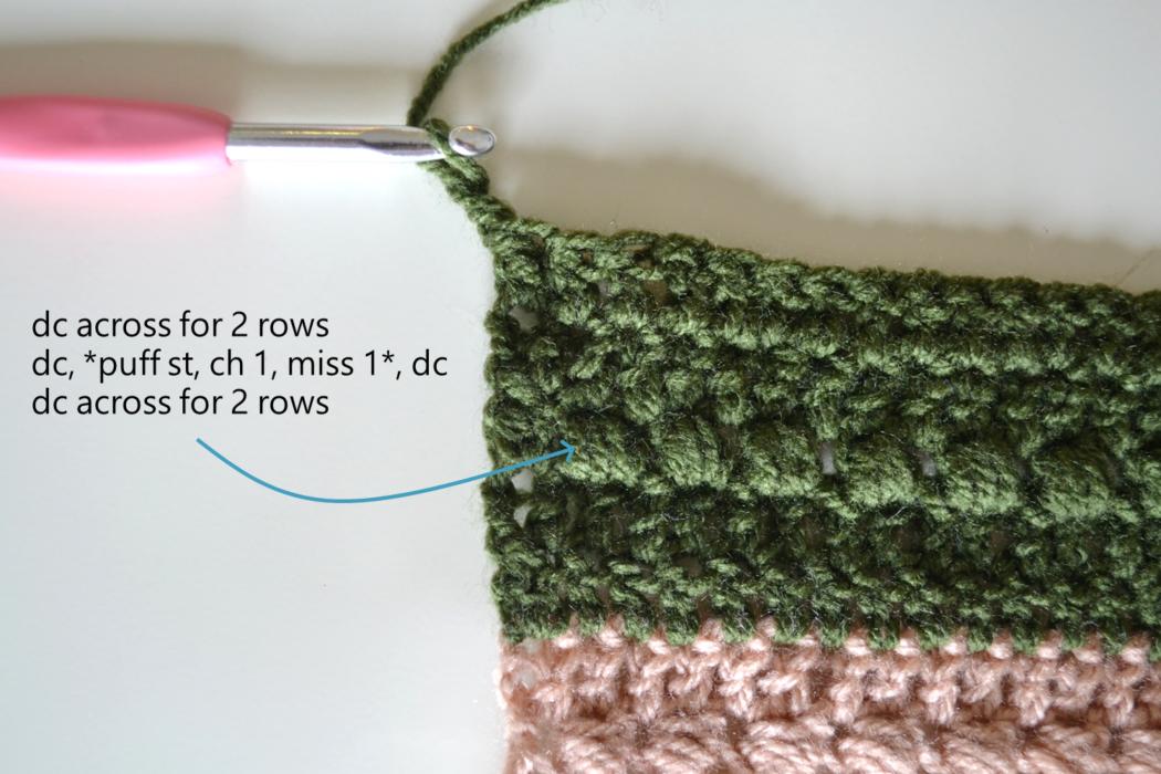easy afghan crochet blanket
