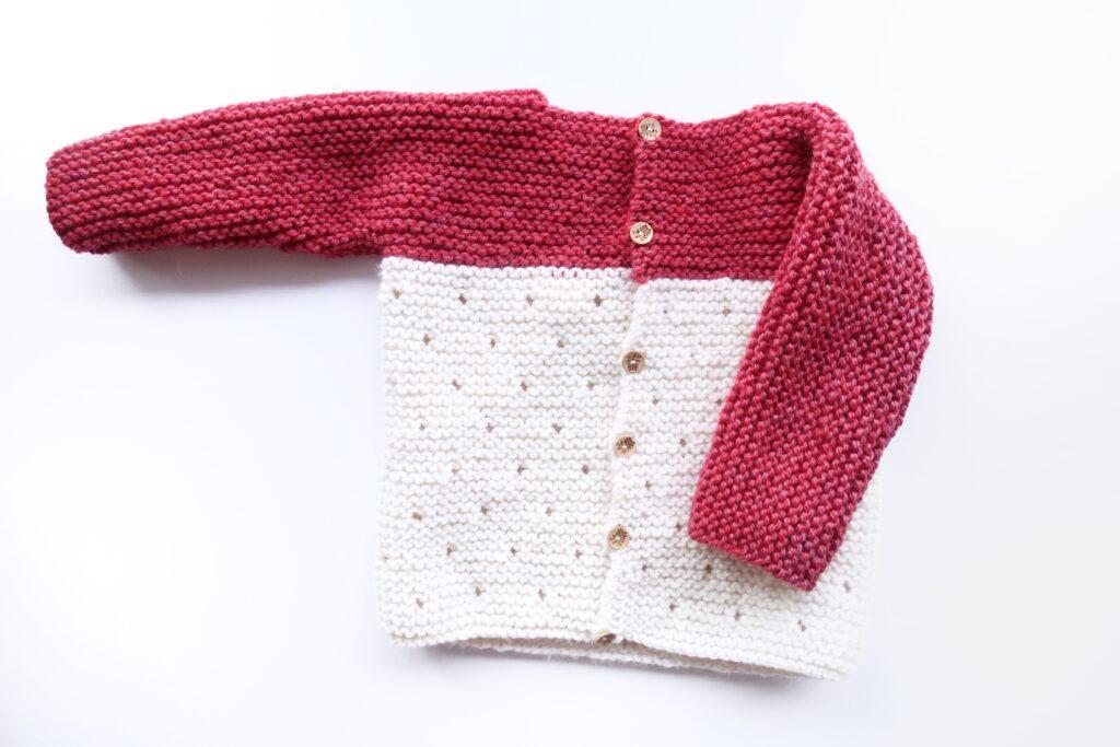 Knit Babay Sweater Pattern FREE