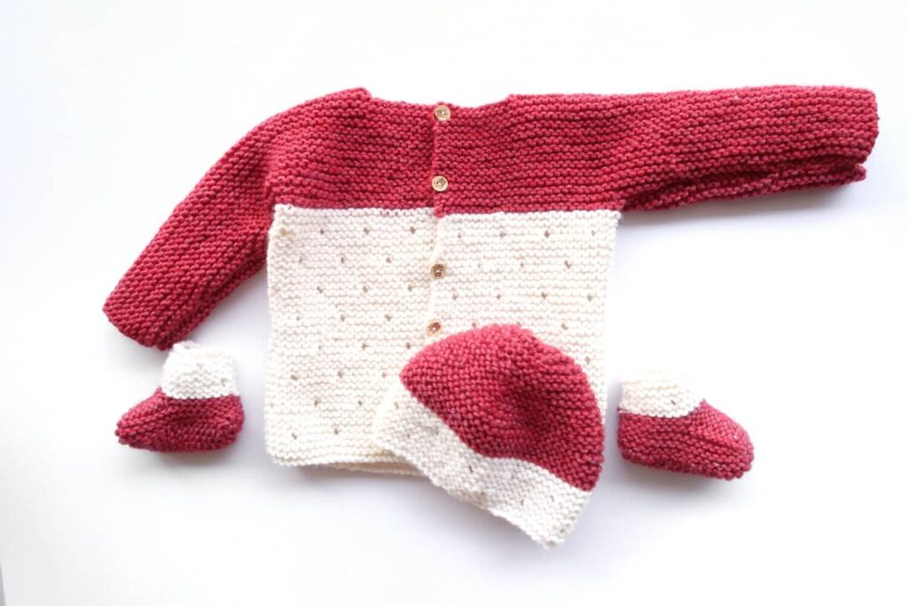 Baby Knitting pattern set
