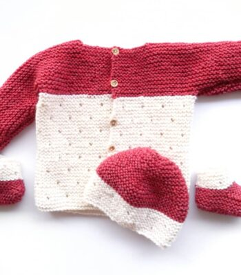 Baby Knitting pattern set