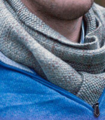Gentlemen Scarf Knitting Pattern FREE