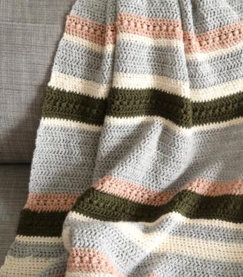 Herfst Blanket free crochet pattern