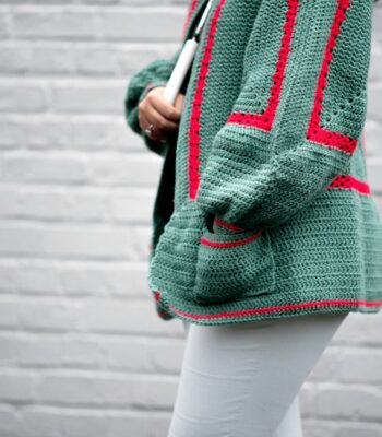 Mathilda's Easy Crochet Cardigan Pattern FREE