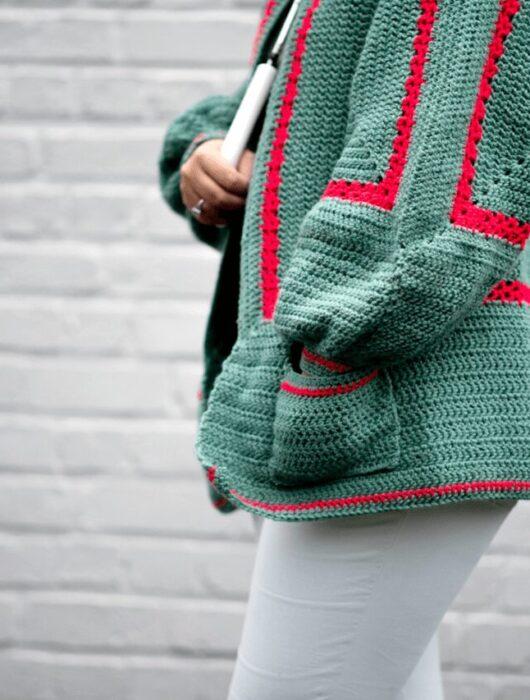 Mathilda's Easy Crochet Cardigan Pattern FREE