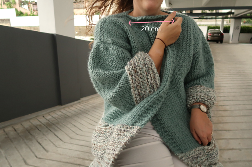Bulky cardigan knitting pattern free assembling the pieces