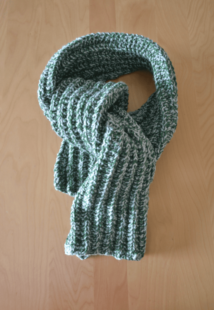 his scarf knitting pattern free