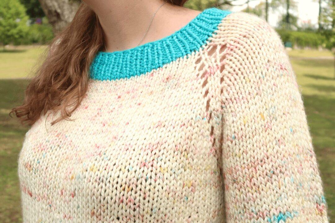 chunky knit sweater pattern