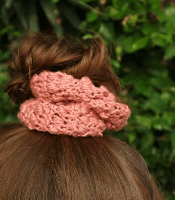 Summer Berries Scrunchies crochet pattern FREE