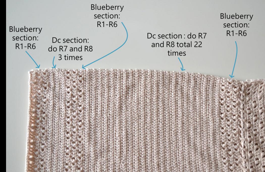 Crochet dress free pattern step 10