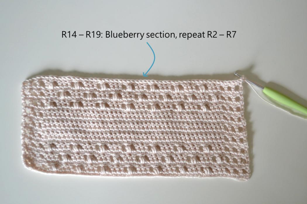 Free crochet pattern for dresses step 5
