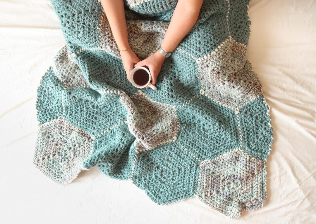 modern crochet blanket pattern free