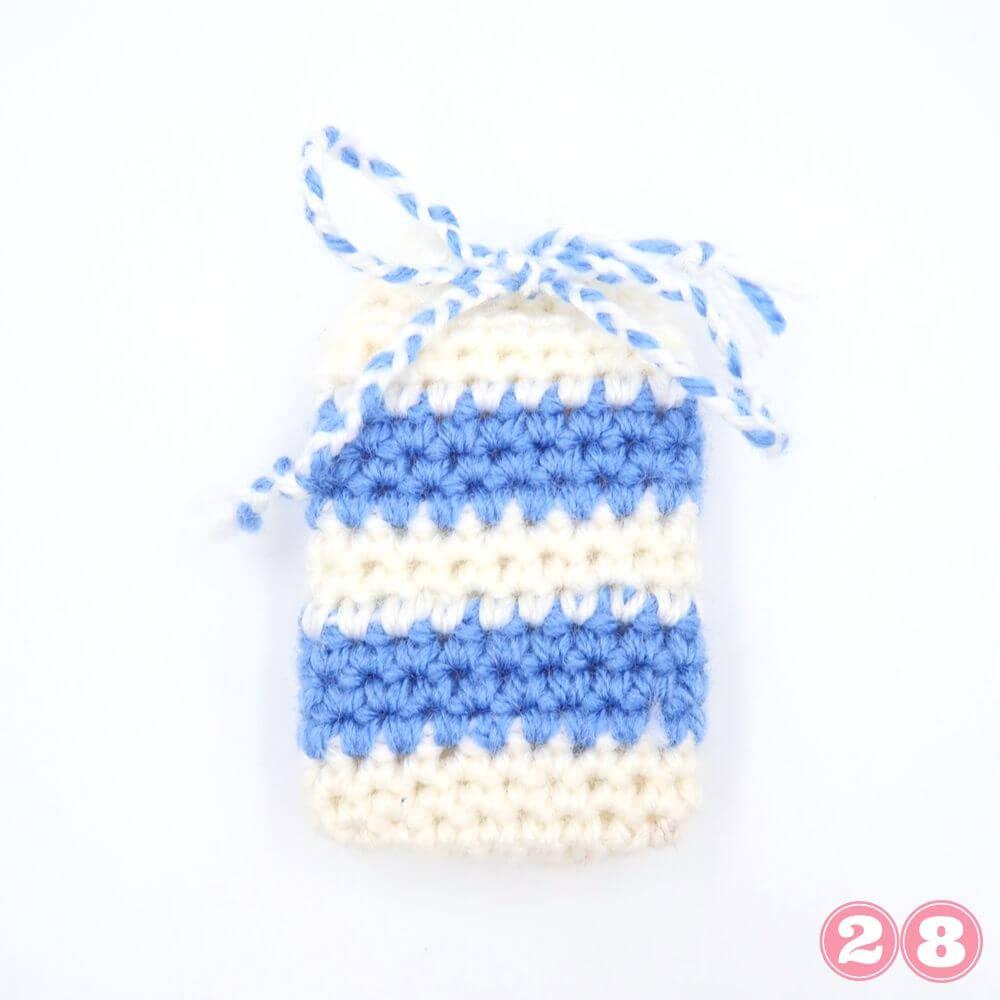 Yarn stash busting crochet pattern 28 week 2