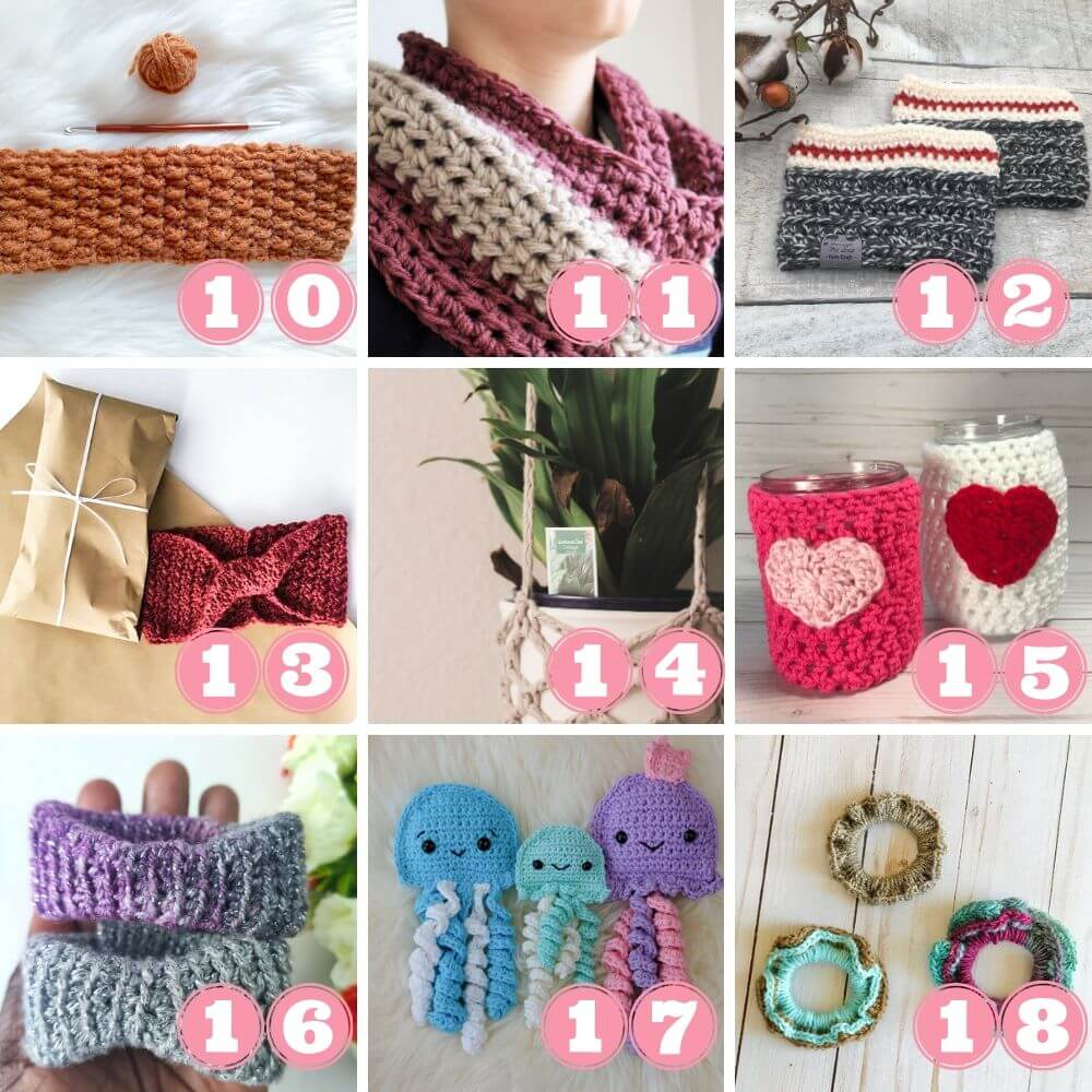 What to do with leftover yarn week 2 projects 10 to 18