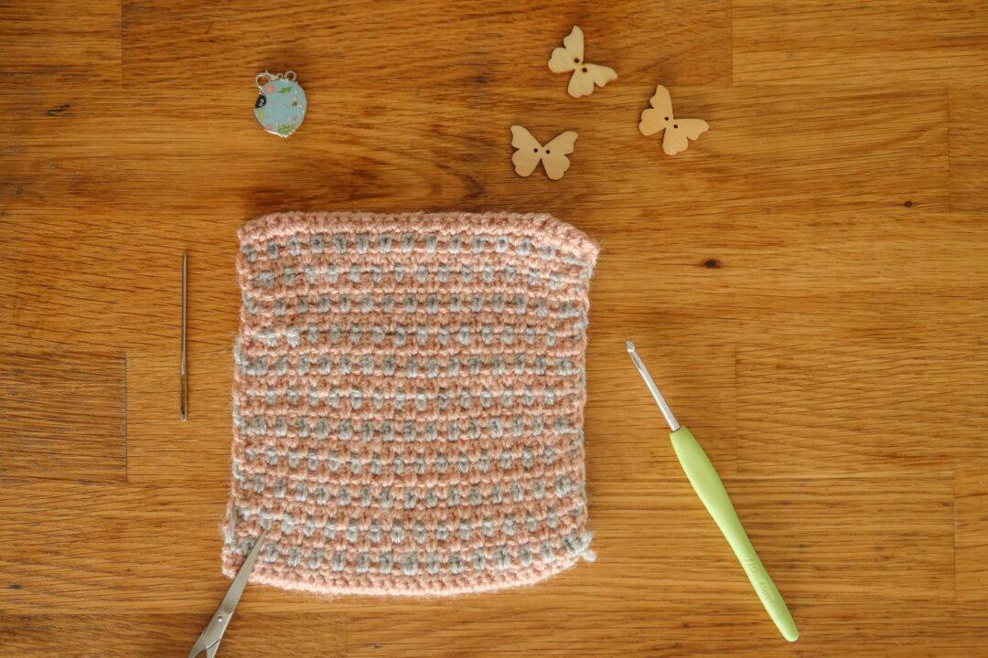 crochet linen stitch tutorial