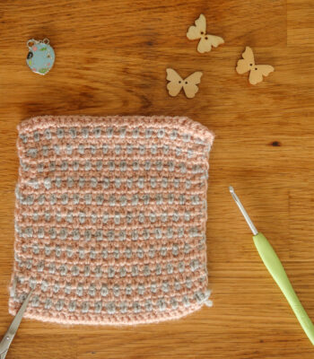 crochet linen stitch tutorial