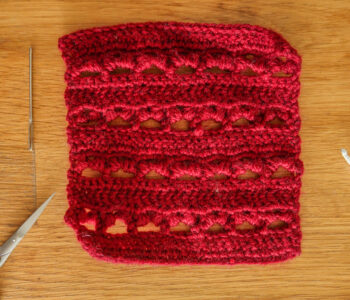 Cherry Puff crochet stitch tutorial
