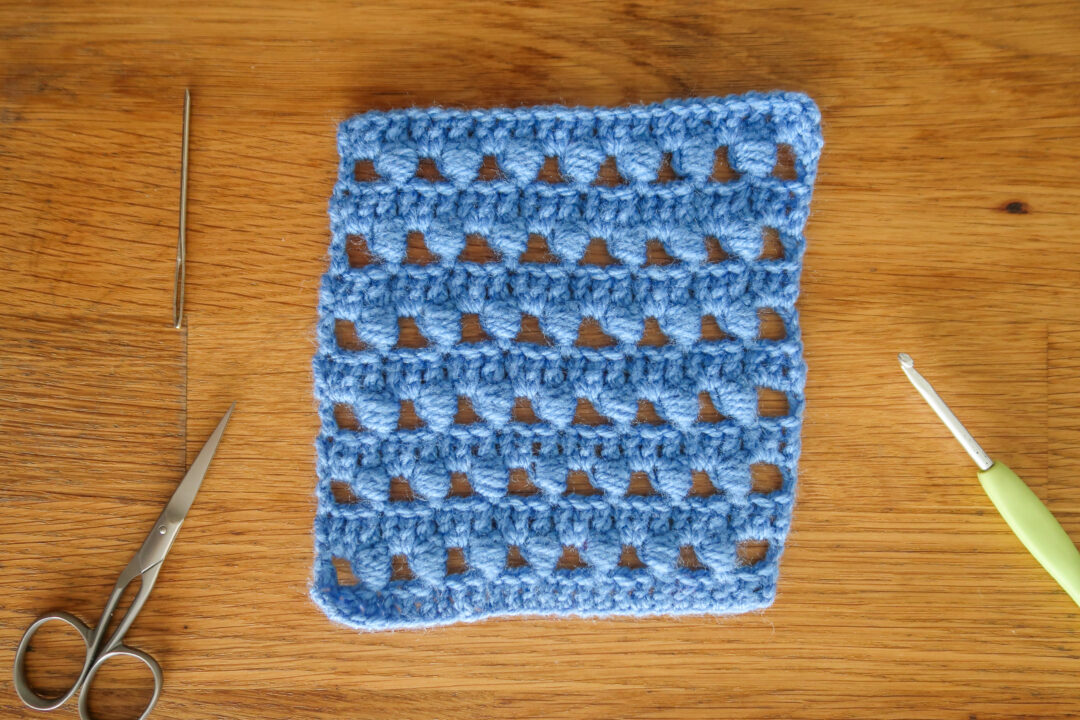 vase crochet stitch pattern