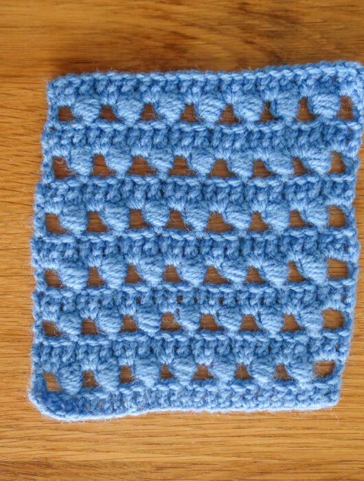 vase crochet stitch pattern