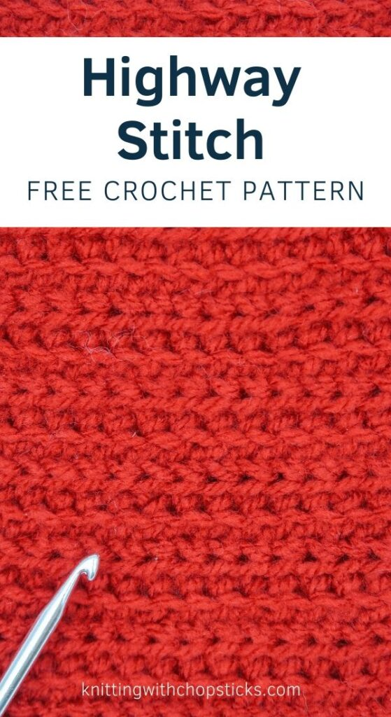 highway crochet stitch for beginners