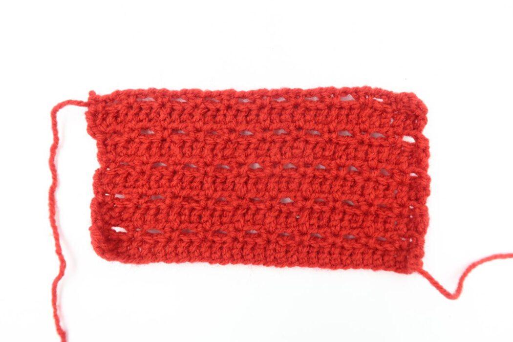 unique crochet stitch step 4