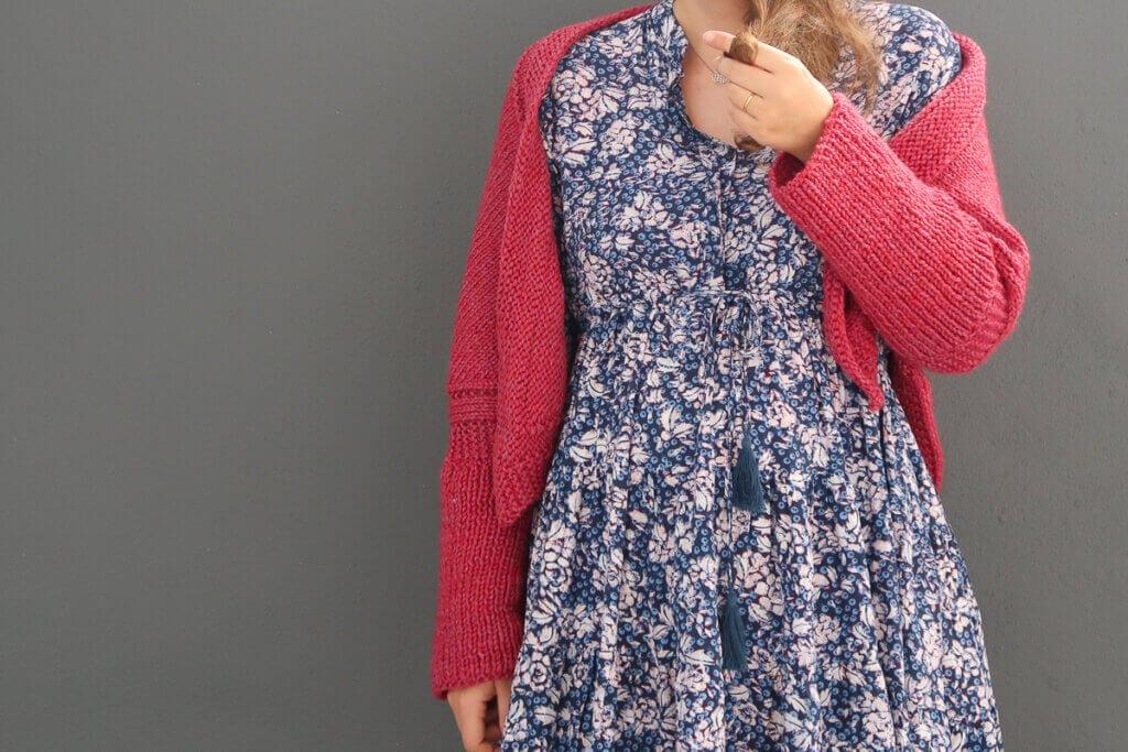 Swallow knit shrug pattern FREE