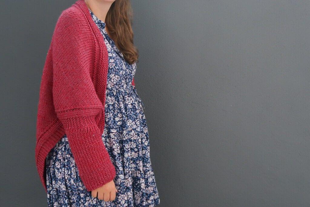 Knit shrug free pattern