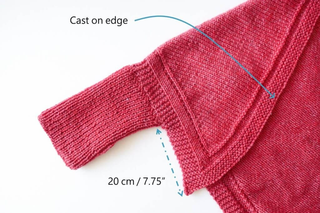How to assemble the knit shrug pattern free