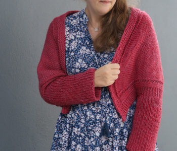 swallow shrug free knitting pattern
