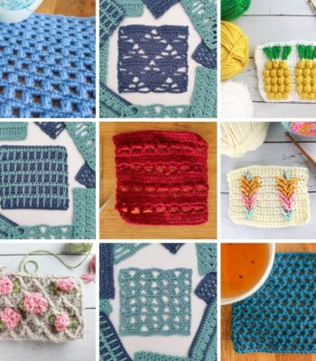 easy crochet stitches patterns FREE