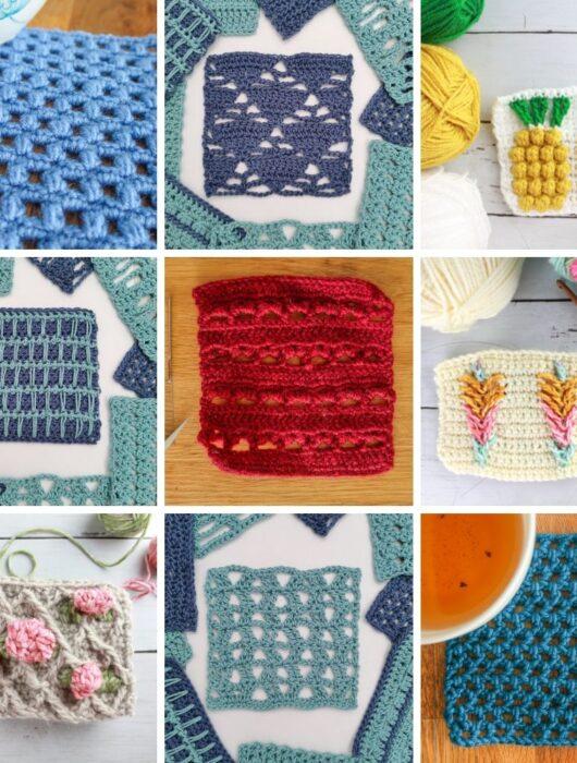 easy crochet stitches patterns FREE