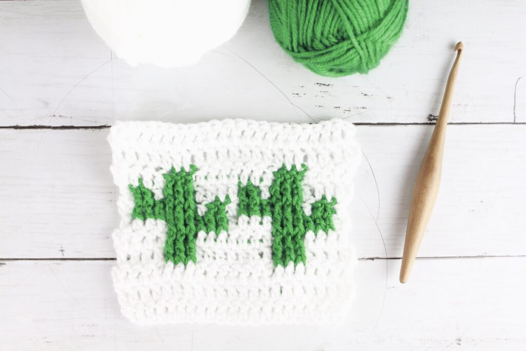 cactus unique crochet stitch pattern