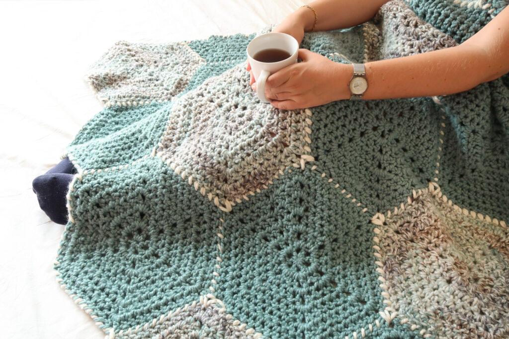 Modern Crochet Blanket Pattern Free Knitting With Chopsticks