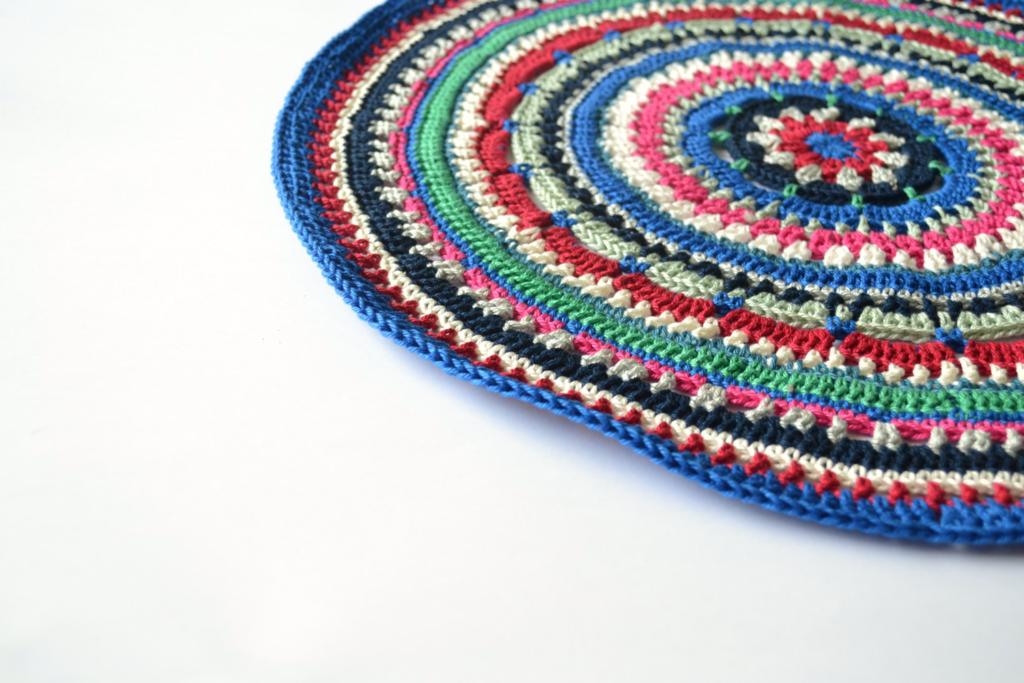 mandala crochet placemat pattern free