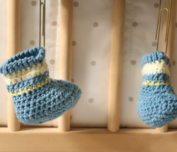Boutchou Crochet Baby Booties Pattern