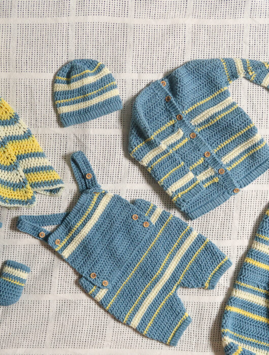 Baby crochet pattern set