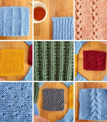 10 free knit stitch patterns