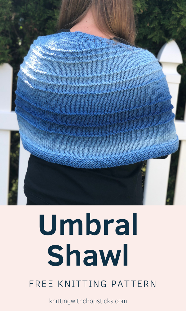 free umbral shawl knitting pattern