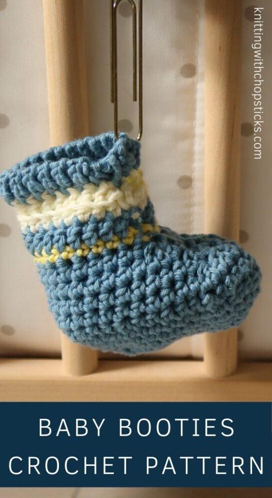 Free Baby Booties Crochet Pattern