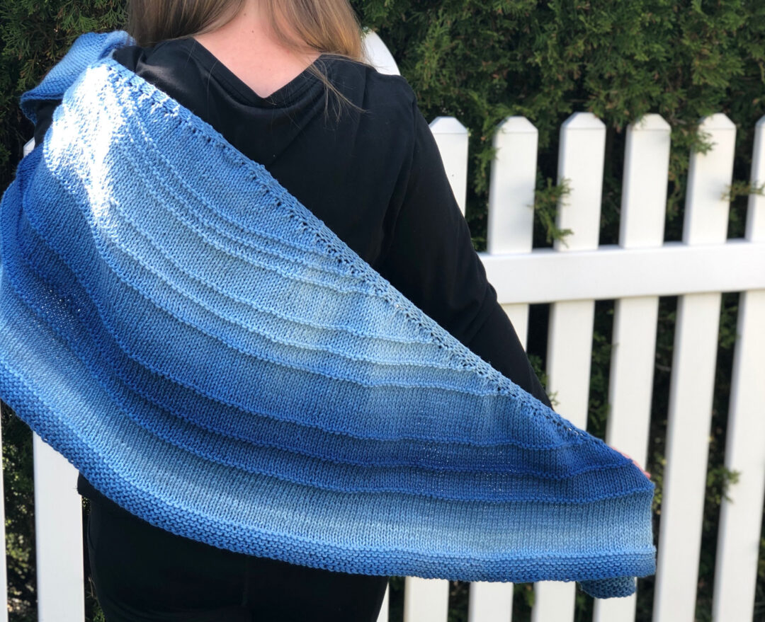 umbral shawl knitting pattern