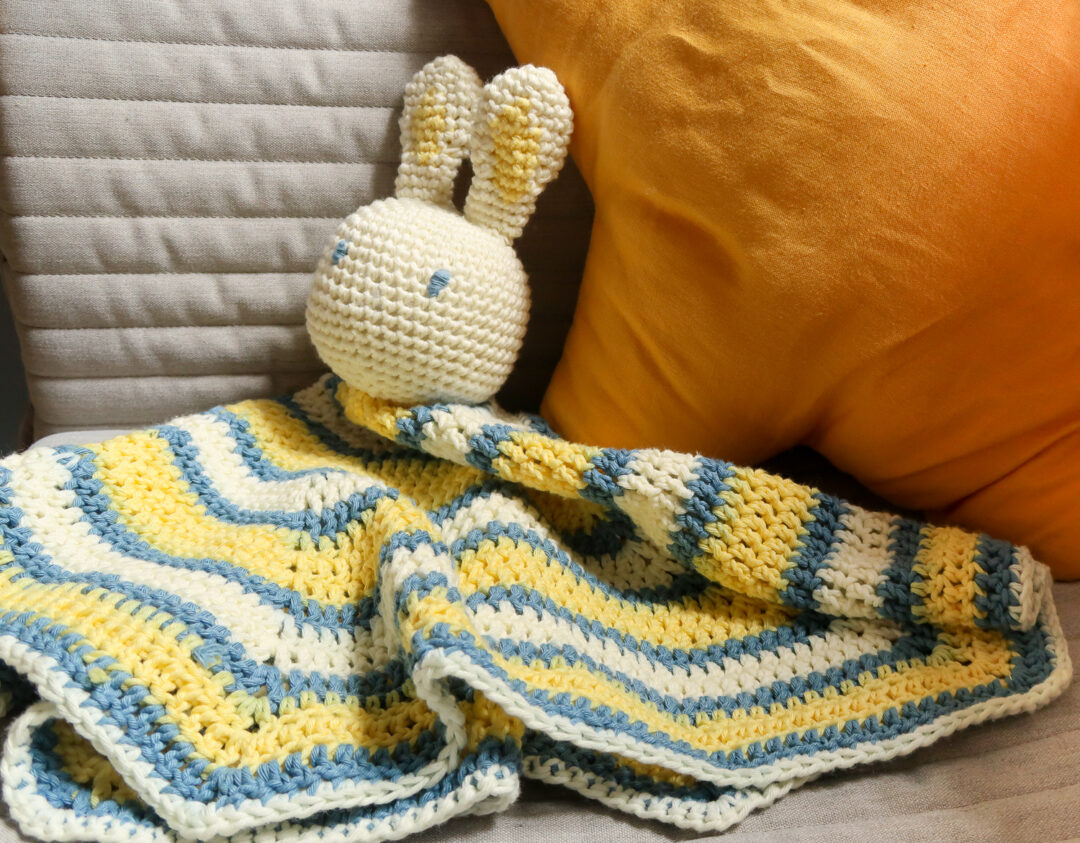 baby lovey crochet pattern