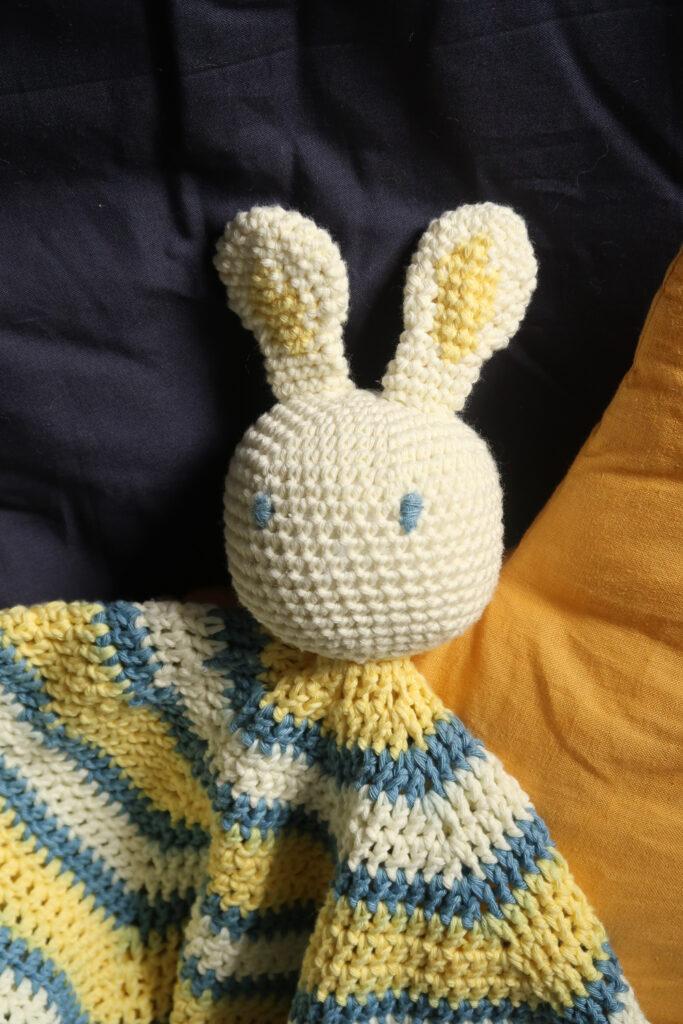 boutchou crochet baby lovey pattern