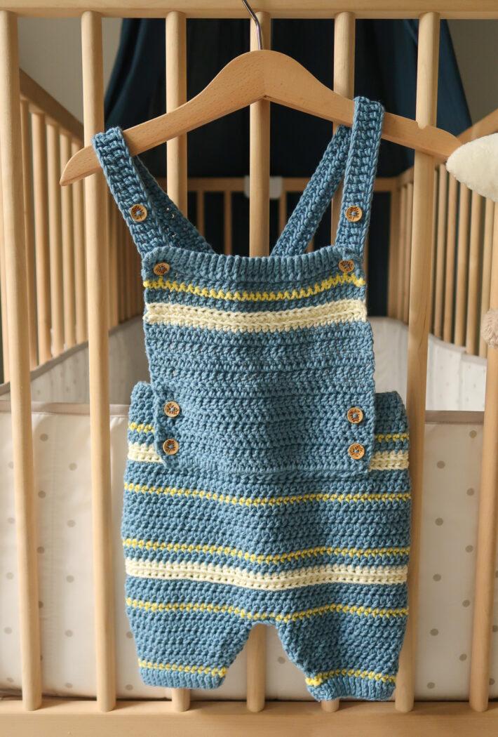 boutchou crochet baby romper pattern